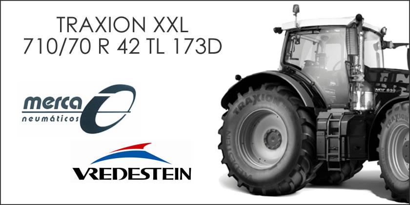 neumáticos agrícolas traxion xxl